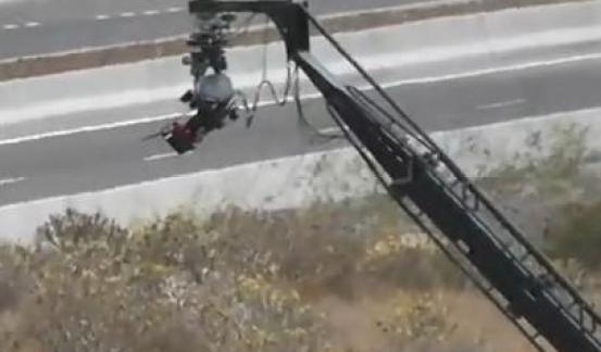 Fast and Furious 6 Camera Crane