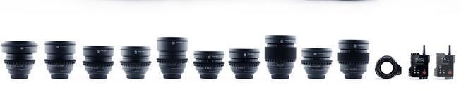 Prime Circle XE System Prime Lenses
