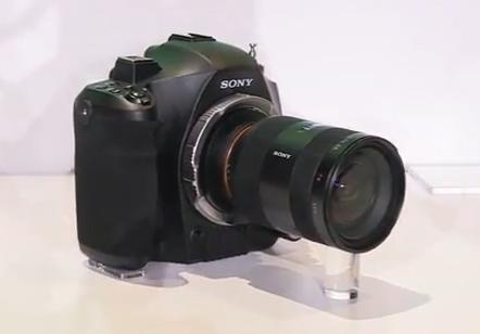 Sony Concept 4K DSLR Camera