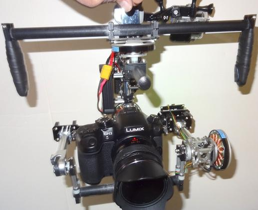 Aegis Brushless Gimbal Camera Rig