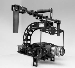 ROTORVIEW 3 Axis Brushless Gimbal Camera Rig
