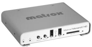 Matrox Monarch HD professional video streaming and recording appliance