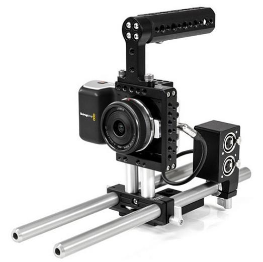 Wooden Camera Fixed Kit Blackmagic Pocket Cinema Camera