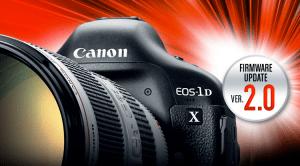 Canon EOS 1DX Firmware 2