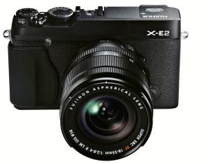 FUJIFILM X-E2 Digital Camera - Black