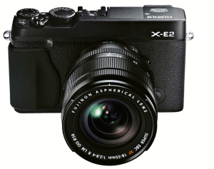 FUJIFILM X-E2 Digital Camera - Black