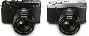 FUJIFILM X-E2 Digital Camera - Black and Silver