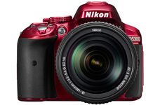 Nikon D5300 Red Camera