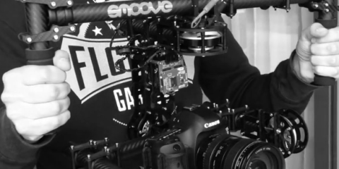 Smoove DSLR Brushless Gimbal Camera Rig
