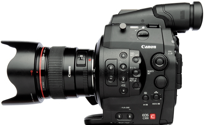 Canon C300 Firmware Suspended