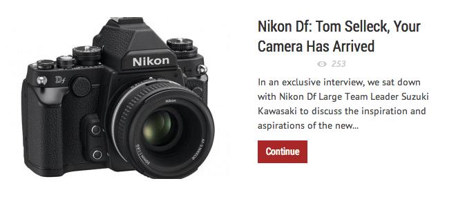 New Camera News NCN