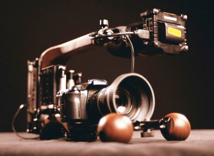 ergocine flyweight rig with camera