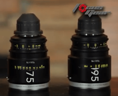Focus Gear Schneider Xenar III Cinema Primes