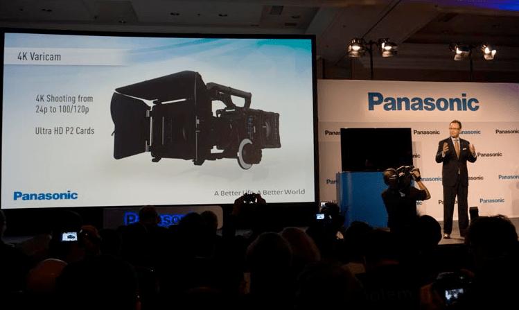 Panasonic 4K Varicam