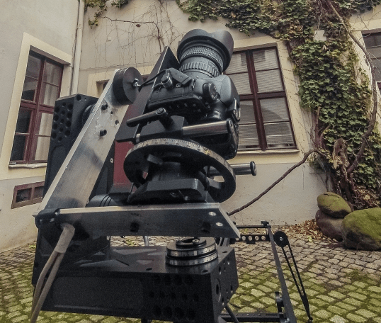 3 Axis CineDrive Remote Head For Timelapse and Realtime