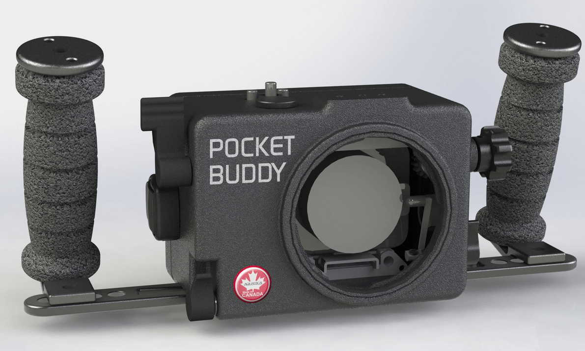 Amphibico Pocket Buddy Underwater Housing For The Blackmagic Pocket Cinema Camera
