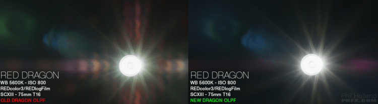 RED Epic Dragon OLPF