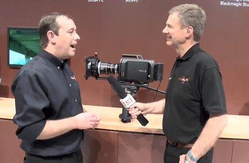 Blackmagic NAB Booth