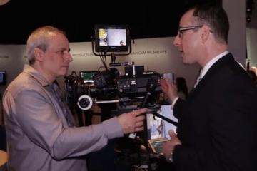 Interview Panasonic VariCam 35 4K Camera NAB 2014