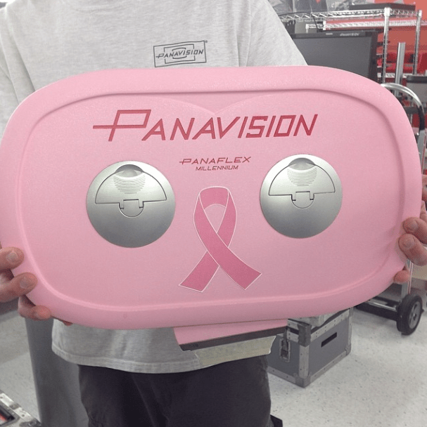 Pink Ribbon breast cancer pink Panaflex Millennium XL mag