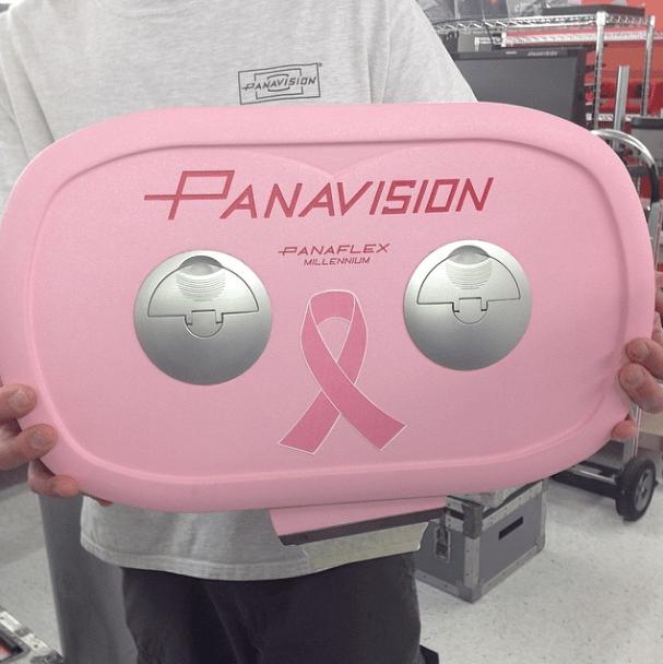 Pink Ribbon breast cancer pink Panaflex Millennium XL mag