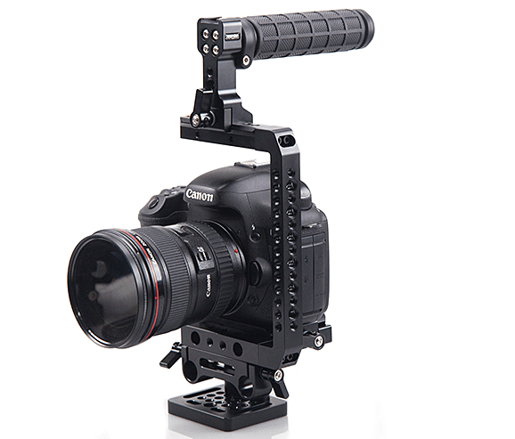 Best camera shoulder rig, shoulder mount for DSLR - Shoulder mounting video shooting solutions.