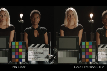 TIFFEN Filters using the Sony F55