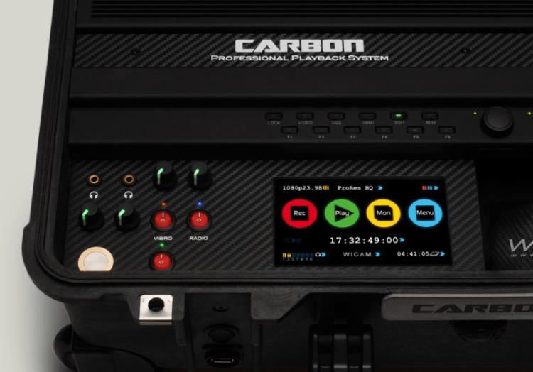 Carbon is a 10-bit 422 HD SSD-recorder