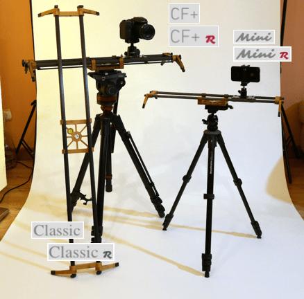 EXTRALITE G2 Camera Slider Family