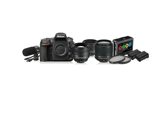 Nikon D810 Cinema Bundle