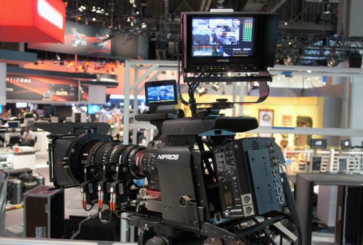 Nipros LS 750:850 GTS camera