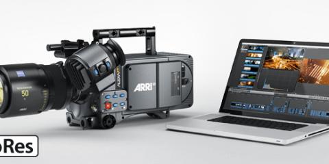 ProRes Recording in ARRI Cameras