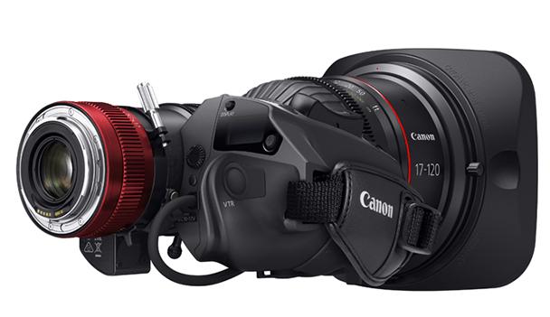 Canon CINE-SERVO 17-120mm T2.95 lens