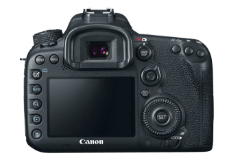 Canon 7D MKII Back