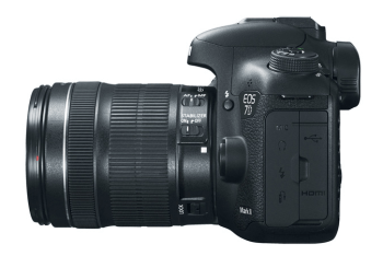 Canon 7D MKII Side