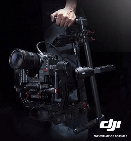 DJI Steadi brushless gimbal camera rig
