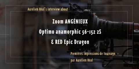 Impressions de tournage, par Aurélien réal – Zoom Angénieux Optimo anamorphique. from Le Grand Souffle