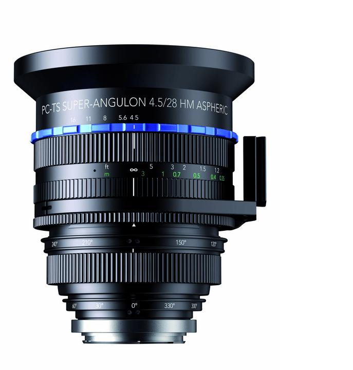 Full Frame 28mm Tilt-Shift Lens Schneider-Kreuznach