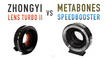 Lens Turbo II vs Metabones Speed Booster
