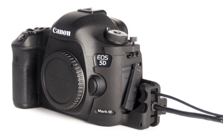 SmallHD HDMI:USB Port Lock Protectors for Canon 5D Mark III:II Cameras
