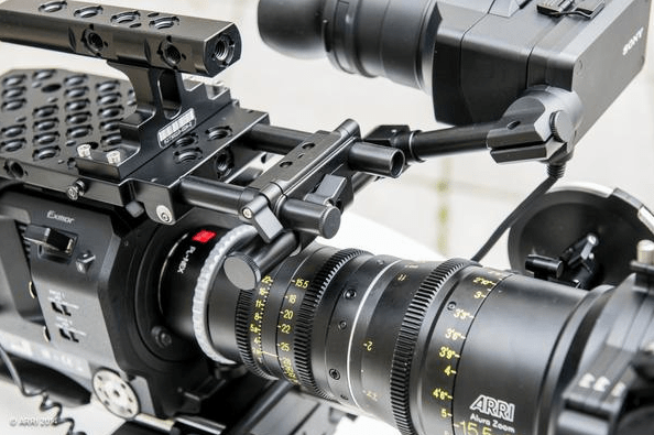 ARRI PCA accessories for sonyfs7 3