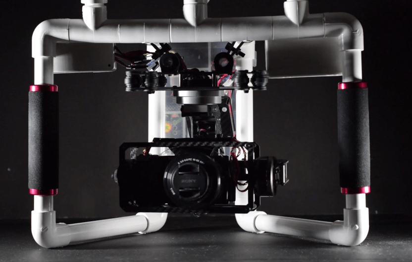 Pvc Pipe Camera : Folks a new dawn introducing diy pvc axis brushless