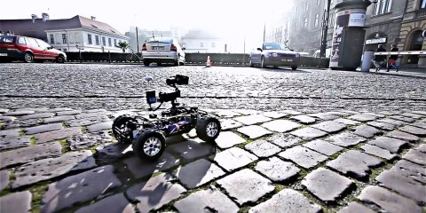Skyglide XCar RC – THE NEW CAMERA CAR!