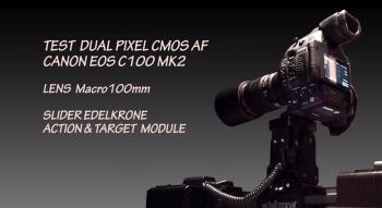 Test Dual Pixel - Canon EOS C100 MK2