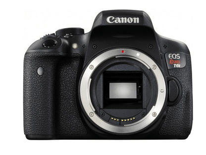 Canon EOS Rebel T6i DSLR Camera