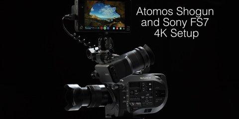 Atomos Shogun and Sony FS7 Camera Setup Guide