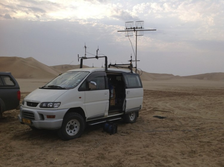 Mad Max - Osmotron in Namibia