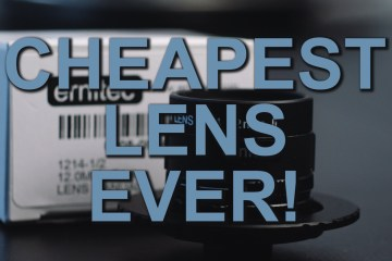 Review of the Cheapest, Widest & Fastest Lens for BMPCC, GH4, & D16 from Mattias Burling