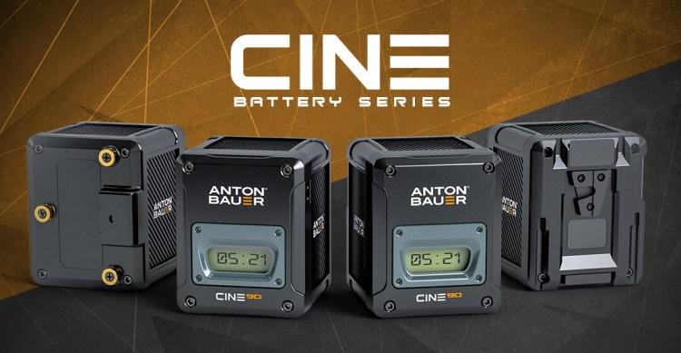 Anton:Bauer Cine Batteries