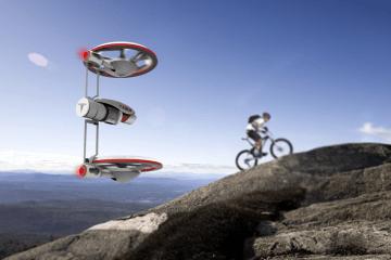 Tesla Drone Filming